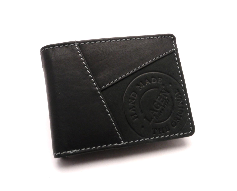 Lagen Pánská kožená peněženka 511451 BLACK