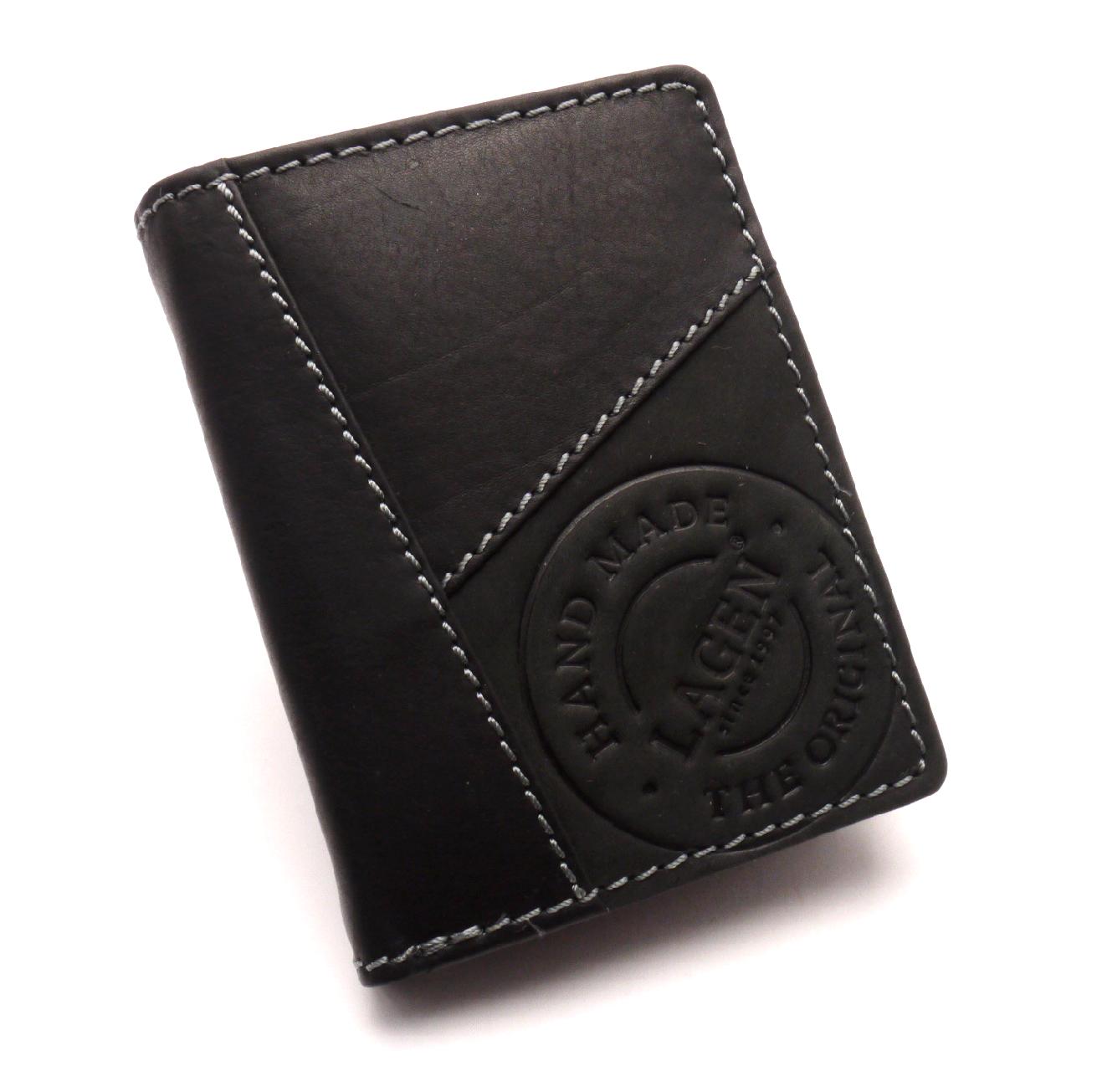 Lagen Pánská kožená peněženka 51145 BLACK