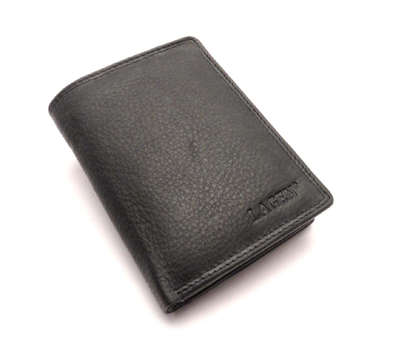 Lagen Pánská kožená peněženka 90752 BLACK