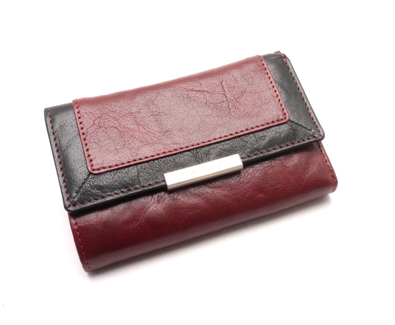 Lagen Dámská peněženka LN/1498/M RED/BLACK