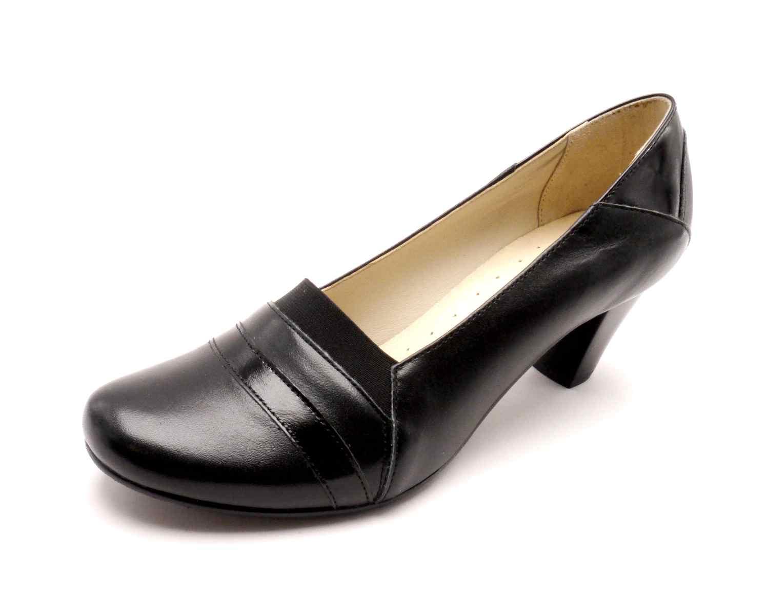 Mintaka Dámské elegantní černé lodičky 81751/6 Velikost: 41