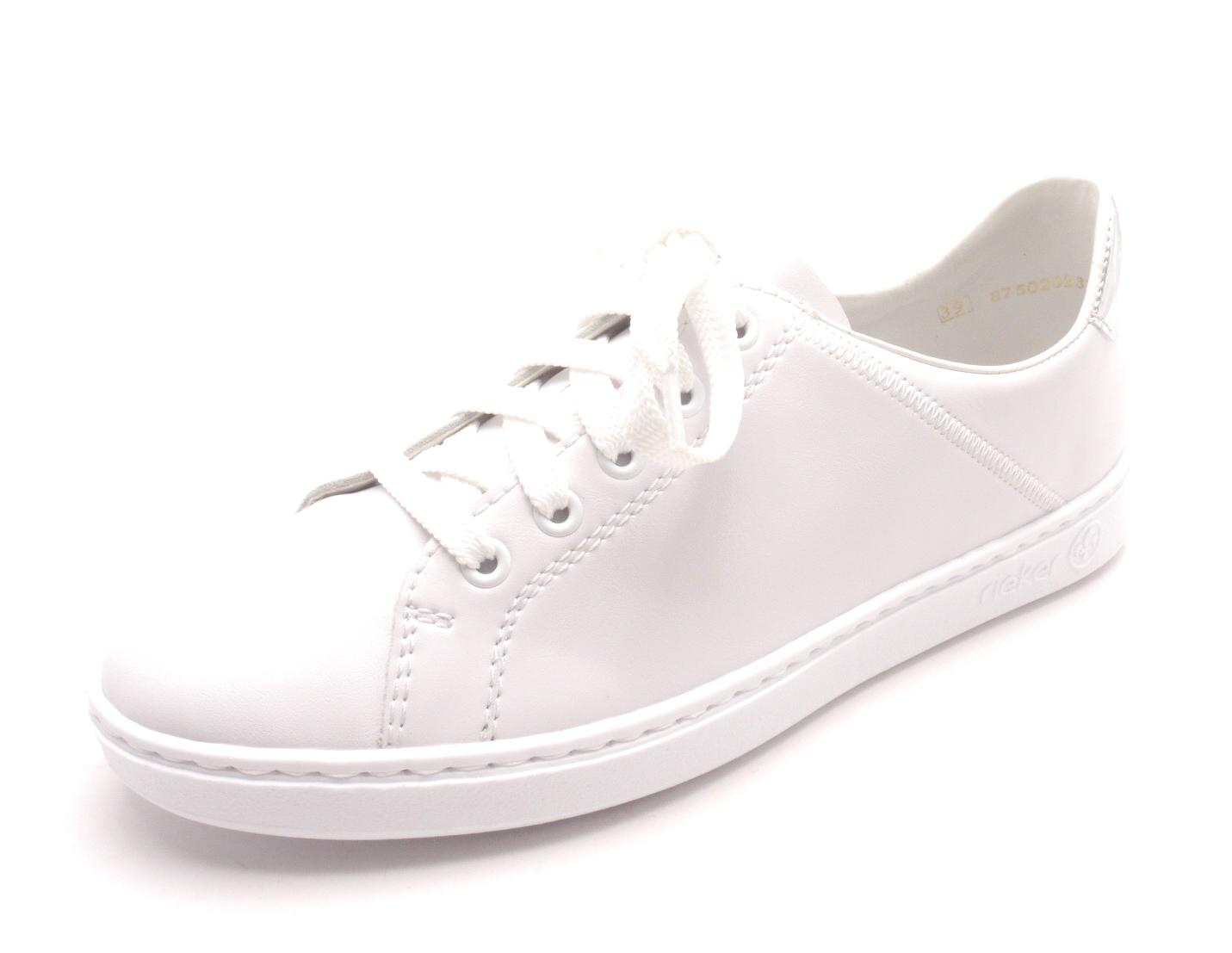 Rieker Dámské bílé tenisky N48G1-80 Velikost: 40