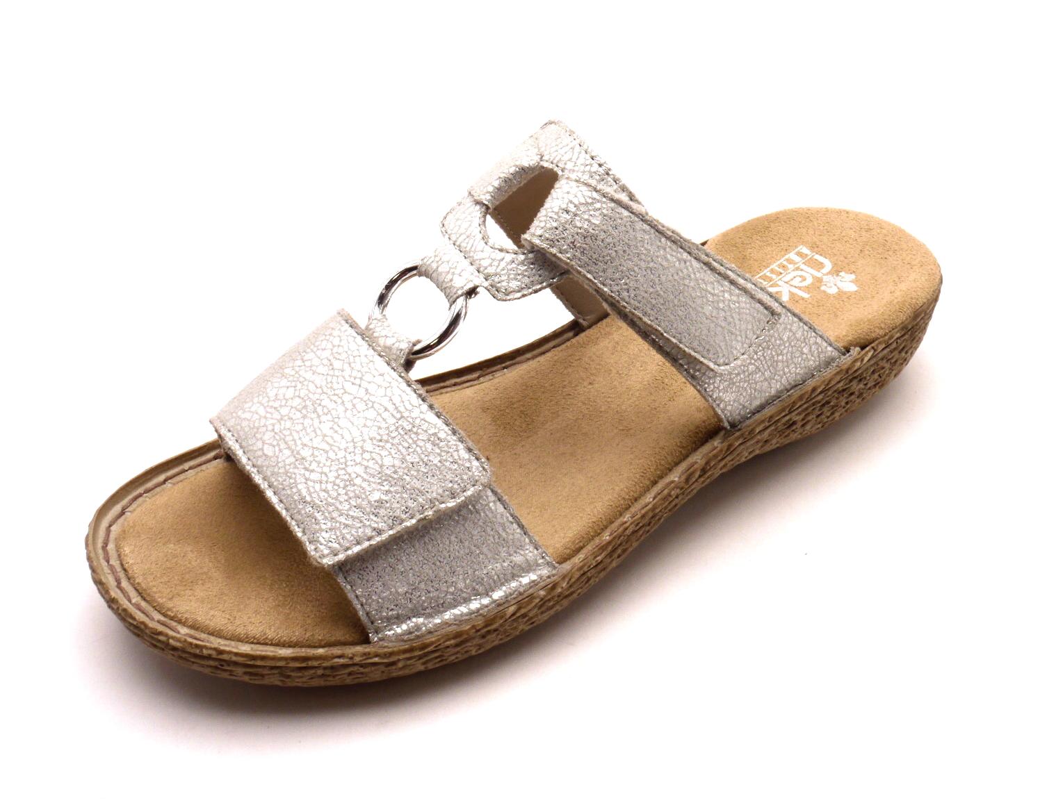 Rieker Dámské elegantní pohodlné pantofle 658P9-80 Velikost: 42