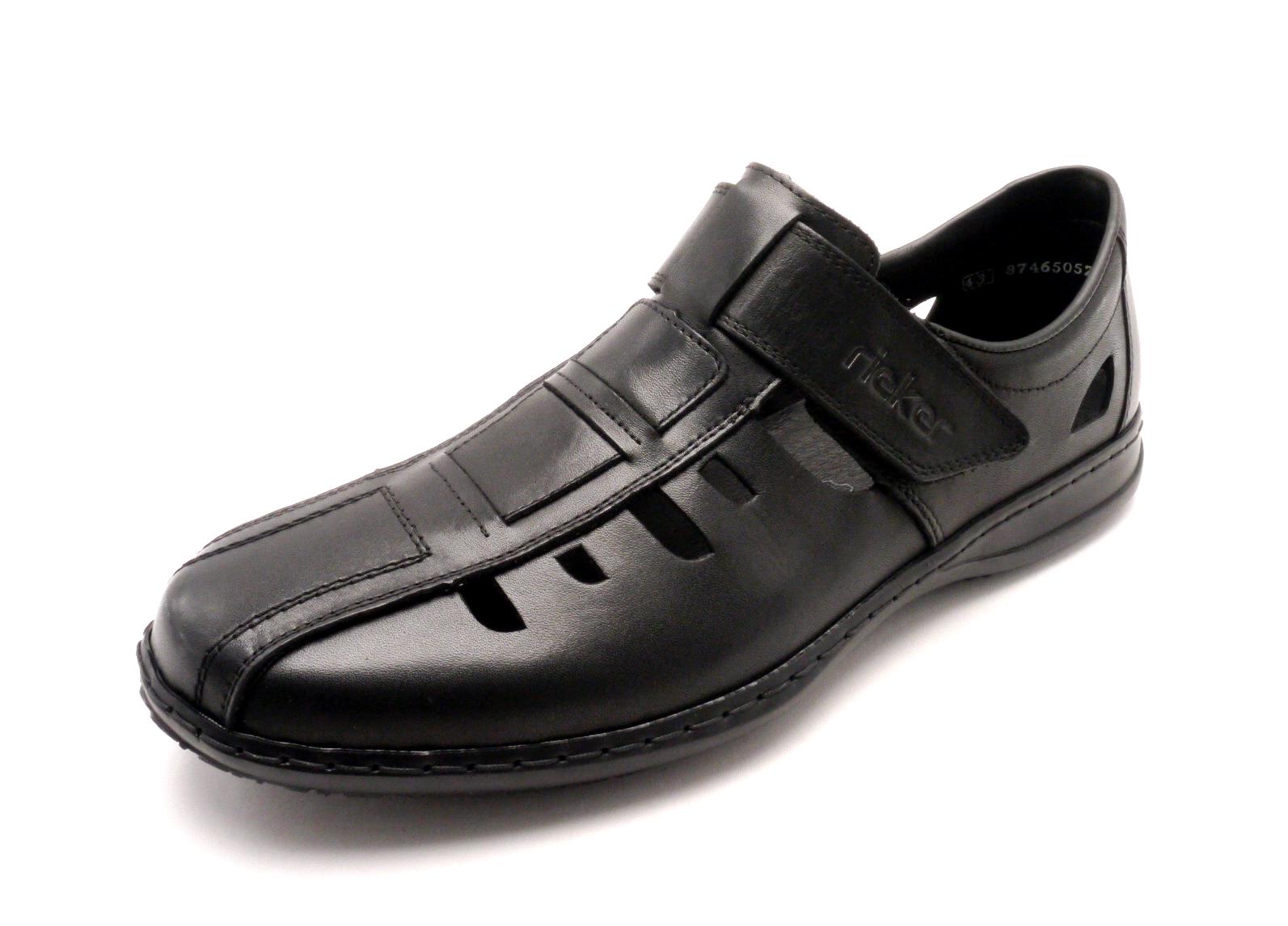 Rieker Pánské uzavřené sandály 01383-00 Velikost  42 ac0db6dadf