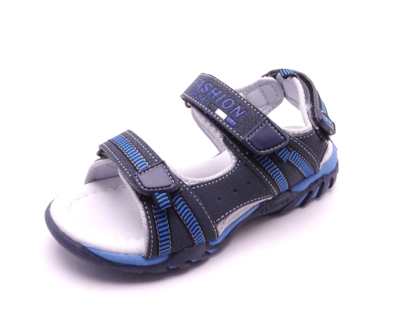 Obutex Dětské sandálky tmavě modré S217002 Velikost  32 876a07e3be