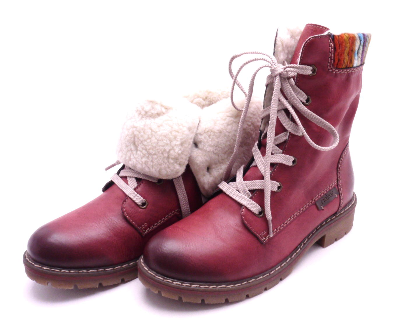 Rieker Dámské kotníkové boty s pleteninou Y9122-35 Velikost: 37