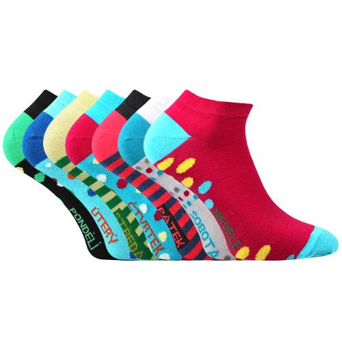 Voxx Ponožky Week nízké - 7 párů velikost: 43-46