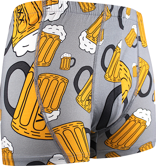 Voxx Boxerky pivo - světle šedé velikost: XL