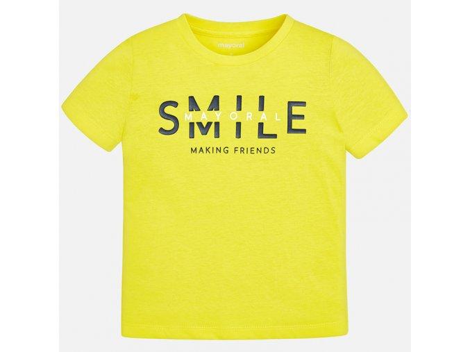 Žluté tričko Mayoral
