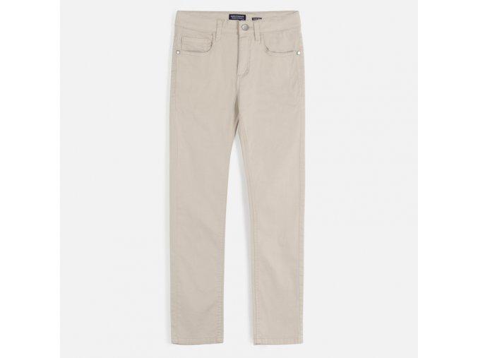 Béžové plátěné kalhoty Nukutavake