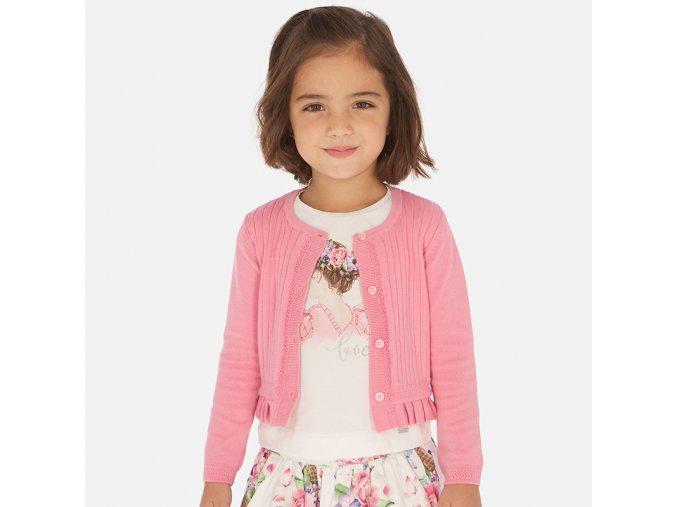 Růžový svetr Mayoral