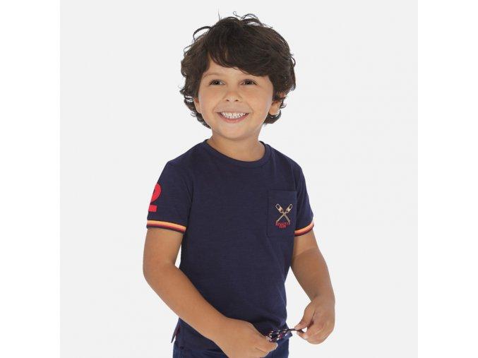 Modré tričko Mayoral