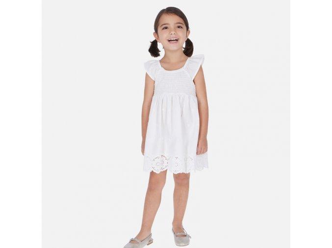 Bílé šaty Mayoral