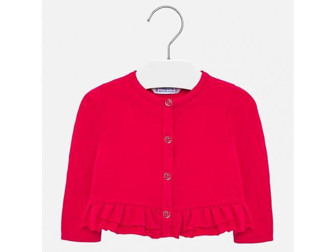 Červený kabátek Mayoral