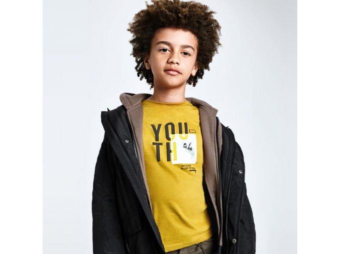 Žluté / hořčicové tričko Nukutavake