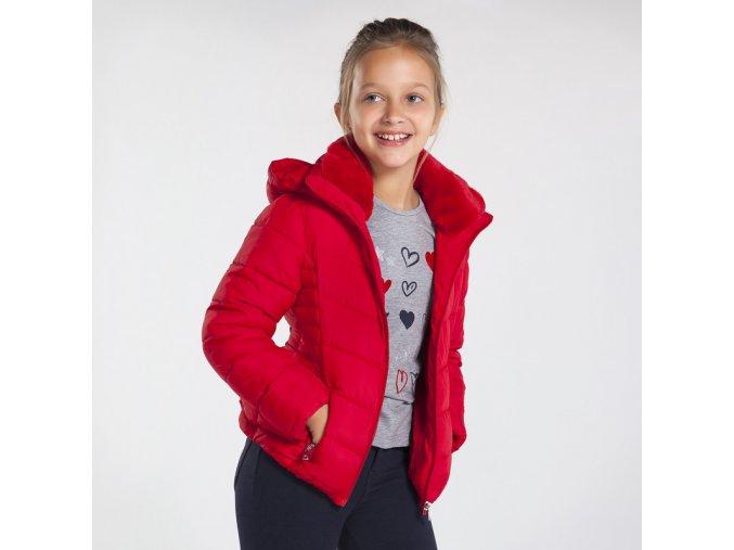 Červená zimní bunda Mayoral