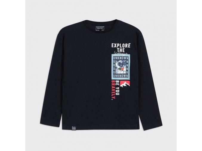 Modré tričko Nukutavake