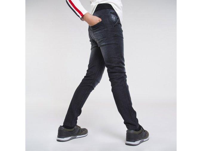 Černé džínové kalhoty Nukutavake
