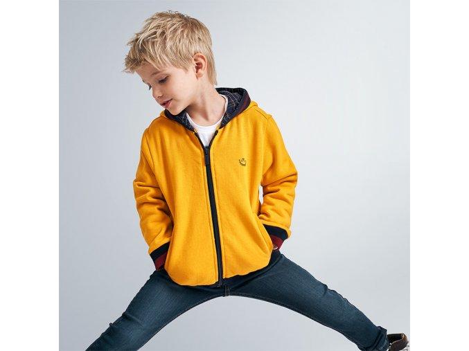 Žlutá mikina Mayoral