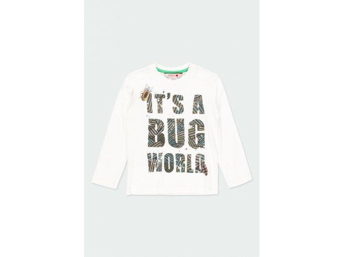 Bílé tričko Boboli