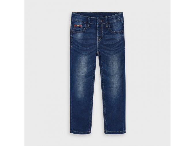 Měkké džínové kalhoty Mayoral SLIM FIT
