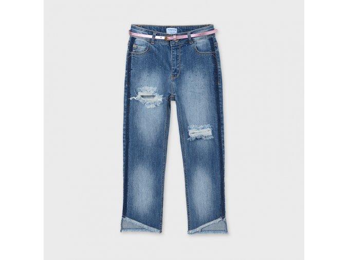 Džínové kalhoty s páskem Mayoral SLIM