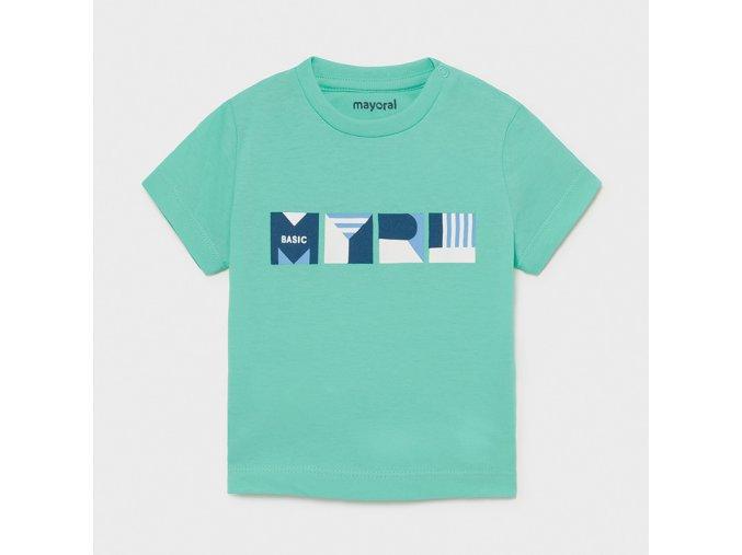 Zelené tričko Mayoral