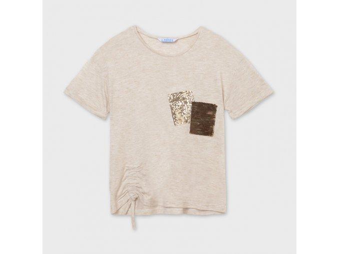 Béžové tričko Mayoral