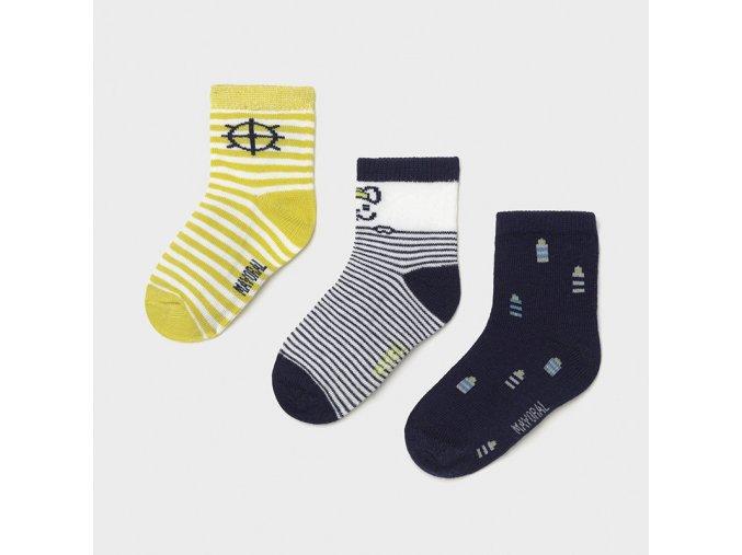 Sada třech párů ponožek Mayoral