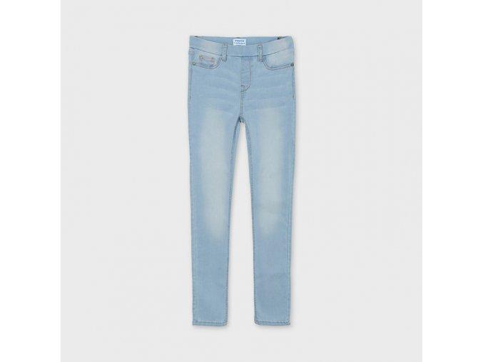Světlé džínové kalhoty / jegginy Mayoral