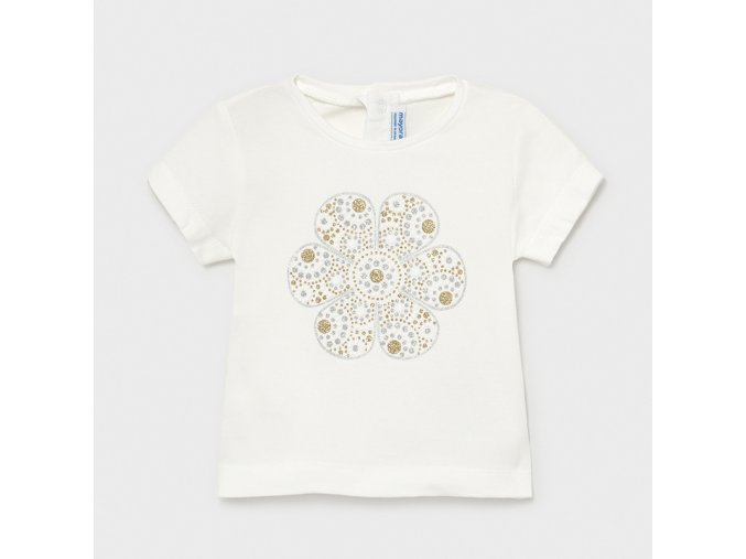 Smetanové tričko Mayoral