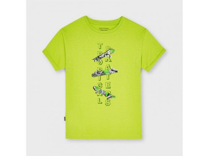 Zelené tričko SKATE Nukutavake