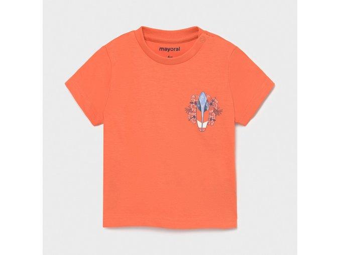 Oranžové tričko Mayoral