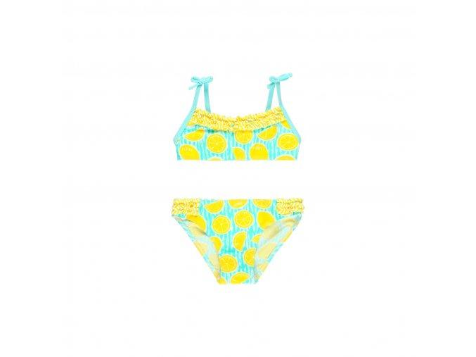 Dvoudílné plavky citróny