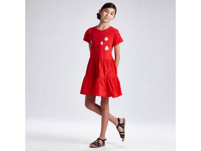 Červené šaty Mayoral