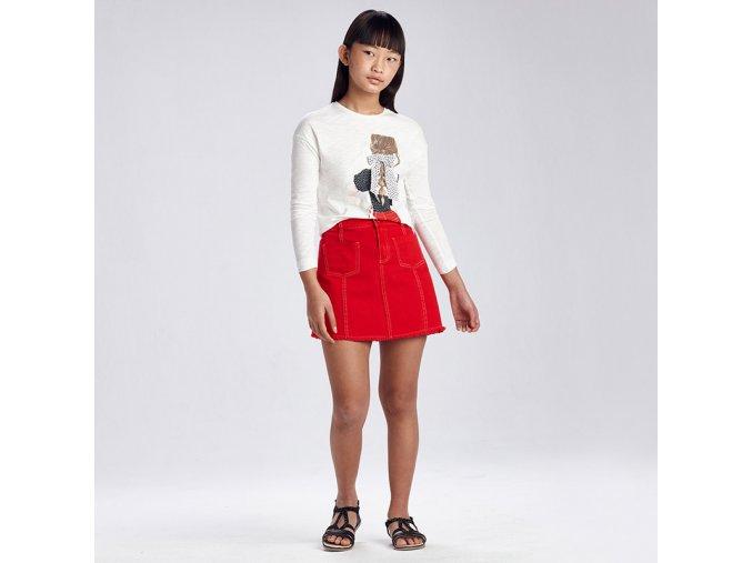 Červená sukně Mayoral