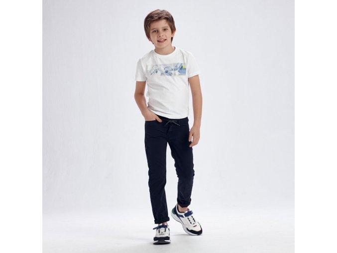 Modré kalhoty Nukutavake SLIM FIT