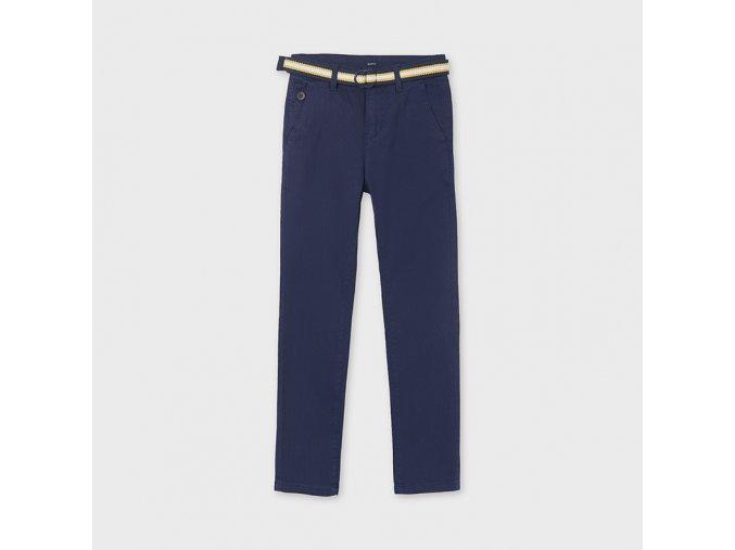 Modré kalhoty s páskem Nukutavake