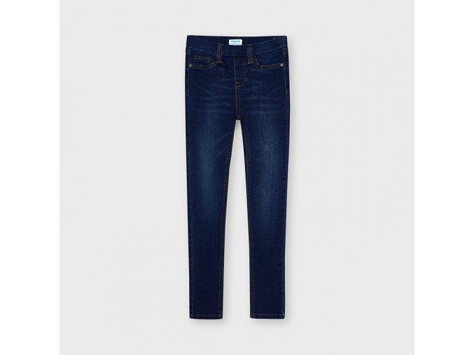 Modré džínové kalhoty / jegginy Mayoral