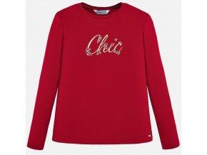 Červené tričko CHIC Mayoral