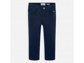 Modré plátěné kalhoty Mayoral