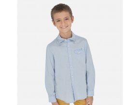 Modrá košile Nukutavake
