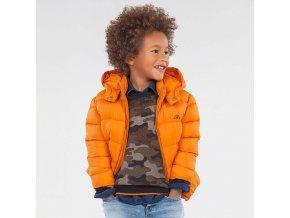 Oranžová zimní bunda Mayoral