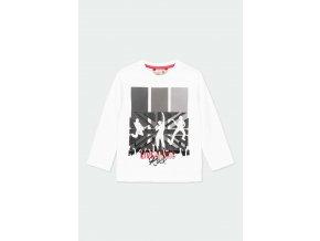 Bílé tričko ROCK