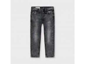 Šedé džínové kalhoty Mayoral SLIM FIT