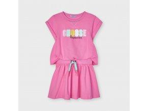 Růžové šaty Mayoral