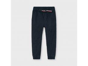 Černé plátěné kalhoty Mayoral