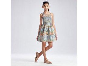 Letní šaty na ramínka