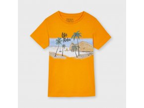 Oranžové triko Nukutavake