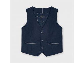 Modrá obleková vesta Mayoral